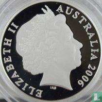 "Australië 1 dollar 2006 (PROOF - zonder letter) ""50 years of Australian television"""