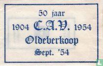 50 Jaar 1904 C.A.V. 1954