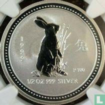 """Australië 50 cents 1999 """"Year of the Rabbit"""""""