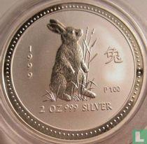 "Australië 2 dollars 1999 ""Year of the Rabbit"""