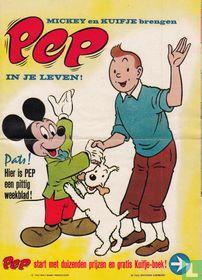 Mickey en Kuifje brengen Pep in je leven!