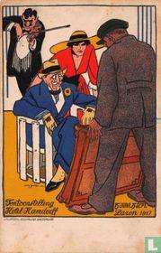 Tentoonstelling Hotel Hamdorff 15 juni 15 sept. Laren 1917