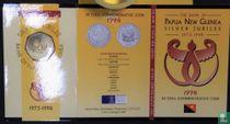 """Papua New Guinea 50 toea 1998 """"25th anniversary Bank of Papua New Guinea"""""""