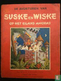 Suske en Wiske op het eiland Amoras