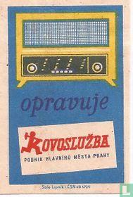Opravuje Kovosluzba, podnik hlavniho mesta Prahy