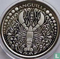 "Anguilla 2 dollars 2018 ""Lobster"""