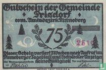 Prisdorf 75 pfennig