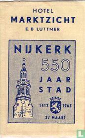 Hotel Marktzicht - Nijkerk 550 Jaar Stad
