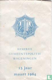 Reserve Gemeentepolitie Wageningen