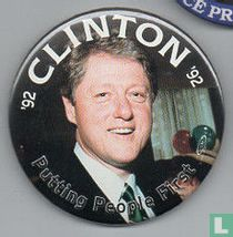 '92 Clinton '92. Putting People First