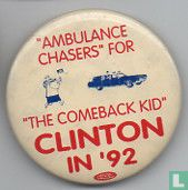 """Ambulance Chasers"" for ""The Comeback Kid"" Clinton in '92"