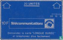 PTT Télécommunications 20 unités