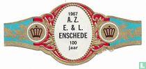 1967 A.Z. E.& L. Enschede 100 jaar