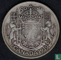 Canada 50 cents 1939