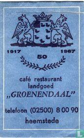"Café Restaurant Landgoed ""Groenendaal"""