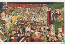 Der Einzug Christi in Brüssel,1888