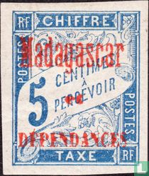 Type Duval, with overprint