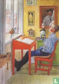 Esbjörn macht seine Hausaufgaben, 1912
