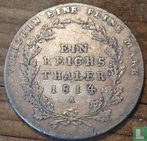 Pruisen 1 thaler 1814