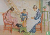 Erbsen schälen, aus Lasst Licht hinein, 1910
