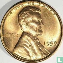 Vereinigte Staaten 1 Cent 1959 (ohne Buchstabe)