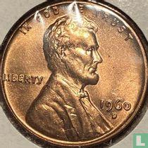 Vereinigte Staaten 1 Cent 1960 (D - kleine Datum)