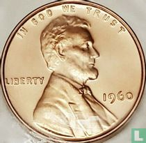Vereinigte Staaten 1 Cent 1960 (PP - kleine Datum)