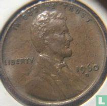 Vereinigte Staaten 1 Cent 1960 (D/D - kleine Datum über große Datum)