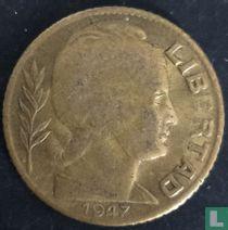 Argentinië 5 centavos 1947