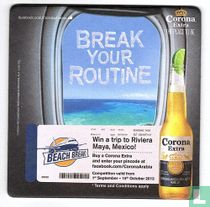 Break your routine
