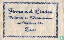 Firma v.d. Linden Poffertjes en Wafelenkraam
