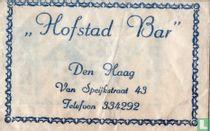 """""""Hofstad Bar"""""""