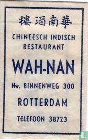 Chinees Indisch Restaurant Wah Nan