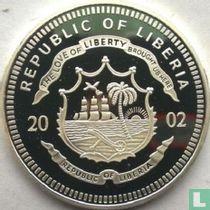 "Liberia 10 dollars 2002 (PROOF) ""Mahatma Gandhi"""