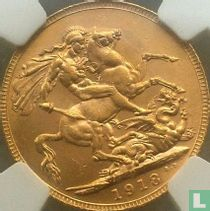 Australien 1 Sovereign 1918 (P)