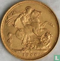 Australië 1 sovereign 1900 (M)