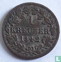 Beieren 1 kreuzer 1842