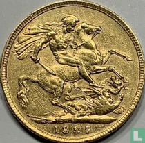 Australië 1 sovereign 1897 (M)