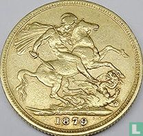 Australië 1 sovereign 1879 (Sint Joris - M)