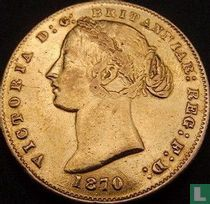 Australia 1 sovereign 1870