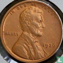 Vereinigte Staaten 1 Cent 1926 (ohne Buchstabe)