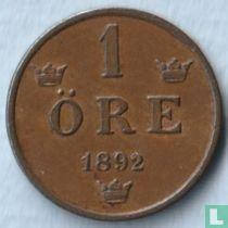 Zweden 1 öre 1892