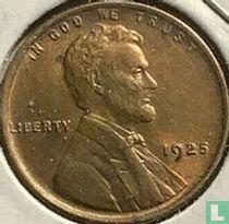 Vereinigte Staaten 1 Cent 1925 (ohne Buchstabe)
