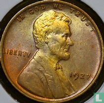 Vereinigte Staaten 1 Cent 1927 (ohne Buchstabe)