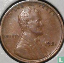 Vereinigte Staaten 1 Cent 1921 (ohne Buchstabe)