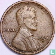 Vereinigte Staaten 1 Cent 1921 (S)