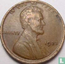 Vereinigte Staaten 1 Cent 1923 (ohne Buchstabe)