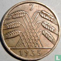 Duitse Rijk 10 reichspfennig 1935 (J)