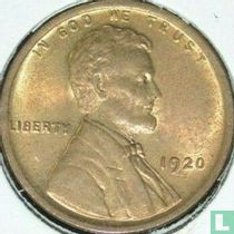 Vereinigte Staaten 1 Cent 1920 (ohne Buchstabe)