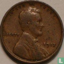 Vereinigte Staaten 1 Cent 1917 (ohne Buchstabe - Typ 2)
